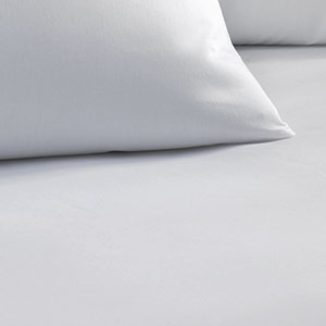 Fitted Sheet - White Solid