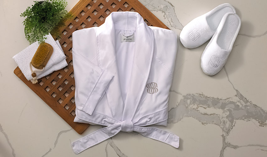 Microfiber Robe Shop Robes Towels Coco Mango Bath Body And Fragrance From Shop Sonesta
