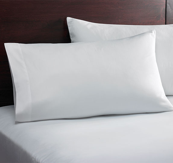 Pillowcase Pair White Solid Shop Sonesta Hotel Store